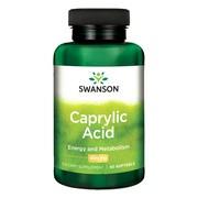 Swanson Kwas kaprylowy 600 mg, kapsułki, 60 szt.