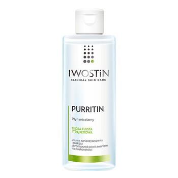 Iwostin Purritin, płyn micelarny, 215 ml