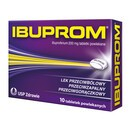 Ibuprom, 200 mg, tabletki powlekane, 10 szt.