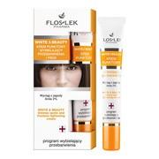 FlosLek Pharma White&Beauty, krem punktowy wybielający przebarwienia i piegi, 20 ml