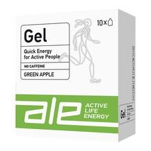 ALE Active Life Energy Gel Green Apple, żel, smak zielone jabłko, 55,5 g, 10 szt.
