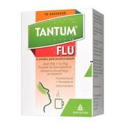 Tantum FLU o smaku pomarańczowym, 600 mg+10 mg, proszek do sporządzania roztworu doustnego, 10 saszetek