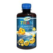 Tran islandzki dla dzieci, kobiet ciężarnych i matek karmiących, olej, 250 ml