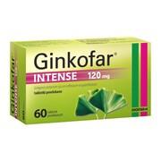 Ginkofar Intense, 120 mg, tabletki powlekane, 60 szt.
