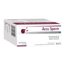Accu Sperm, test płodności dla mężczyzn określający stężenie plemników, 1 szt.