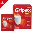 Gripex Hot, proszek do sporządzania roztworów, 8 saszetek
