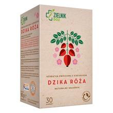 ZIELNIK DOZ Dzika Róża, herbatka owocowa z hibiskusem, 30 saszetek