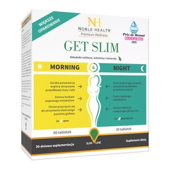 Get Slim Morning & Night, tabletki, 90 szt.
