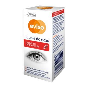 DOZ PRODUCT Oviso, krople do oczu, łagodzące podrażnienia,10 ml