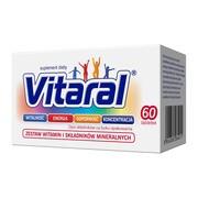 Vitaral, tabletki drażowane, 60 szt.