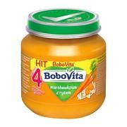 BoboVita, zupka marchewkowa z ryżem, 4 m+, 125 g