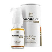 CannabiGold Basic, 250 mg, krople, 12 ml