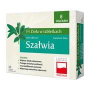 Szałwia, tabletki powlekane, 30 szt.