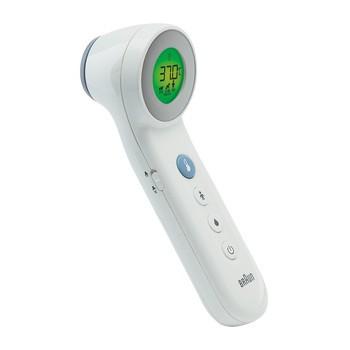 Termometr do czoła, bezdotykowy, Braun BNT 400, 1 szt.