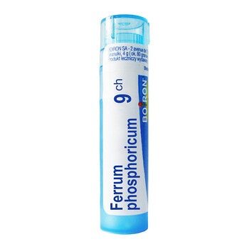 Boiron Ferrum phosphoricum, 9 CH, granulki, 4 g