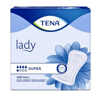 TENA Lady Super, specjalistyczne podpaski, 30 szt.