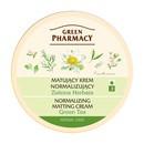 Green Pharmacy, matujący krem normalizujący, zielona herbata, 150 ml