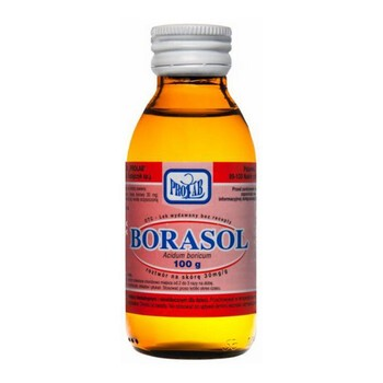 Borasol, 30 mg/g, roztwór na skórę, 100 g