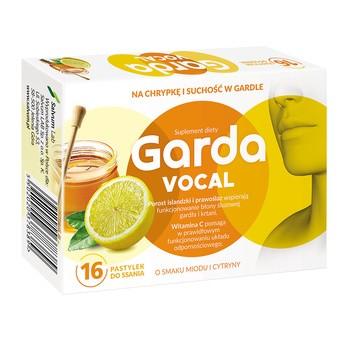 Garda Vocal, pastylki do ssania, 16 szt.