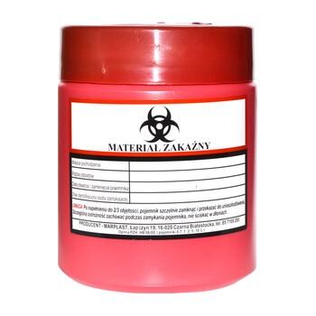 Pojemnik na odpady ambulatoryjne, 0,7 l, 1 szt.