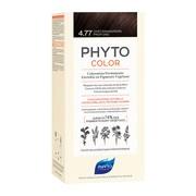 Phyto Color, farba do włosów, 4.77 intensywny kasztanowy brąz, 1 opakowanie