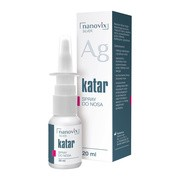 Nanovix Silver Katar, spray do nosa, 20 ml