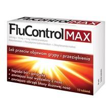FluControl Max, 650 mg+10 mg+4 mg, tabletki powlekane, 10 szt.