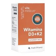 Witamina D3+K2 VitaMedicus, krople, 29,4 ml