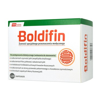 Boldifin, kapsułki twarde,120 szt