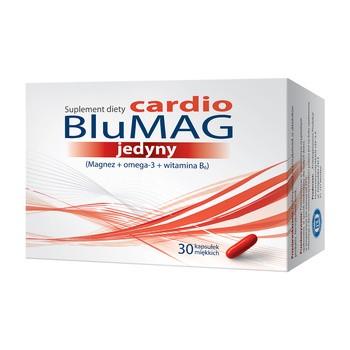 BluMAG cardio jedyny, kapsułki miękkie, 30 szt.