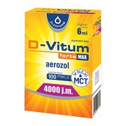 D-Vitum Forte Max 4000 j.m., aerozol, 6 ml