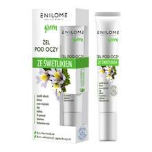 Enilome Healthy Beauty Green, żel ze świetlikiem pod oczy, 15 ml