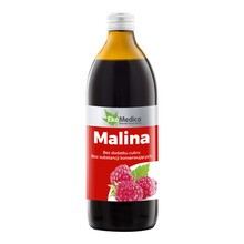 Malina, sok, 500 ml (EkaMedica)
