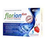 Florion Duo Probiotyk + Elektrolity, proszek do sporządzania roztworu, 5 saszetek