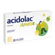 Acidolac Junior, misio-tabletki, o smaku białej czekolady, 20 szt.