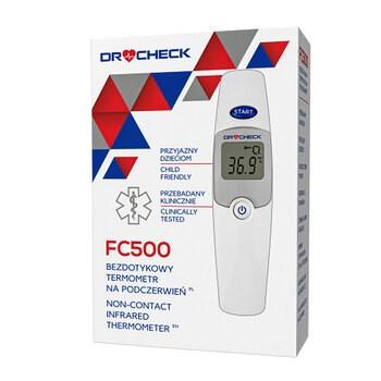 Termometr Dr.Check, FC500, bezdotykowy na podczerwień, 1 szt.