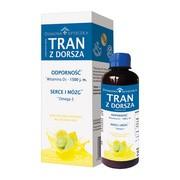 Domowa Apteczka Tran z dorsza, smak cytrynowo-limonkowy, 250 ml
