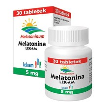 Melatonina LEK-AM, 5 mg, tabletki, 30 szt.