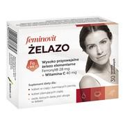 Feminovit Żelazo, tabletki powlekane, 30 szt.