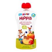 HiPP HiPPiS BIO, mus jabłka, brzoskwinie, owoce leśne, po 6. miesiącu, 100 g