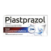 Piastprazol, 20 mg, kapsułki dojelitowe twarde, 14 szt.