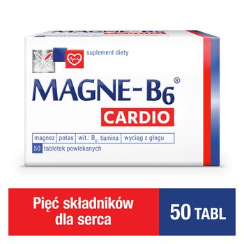 Magne-B6 Cardio, tabletki, 50 szt.