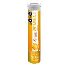 DOZ PRODUCT Witamina C 1000 mg, tabletki musujące., 20 szt.