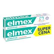 Elmex Sensitive, pasta do zębów z aminofluorkiem, 75 ml x 2 opakowania
