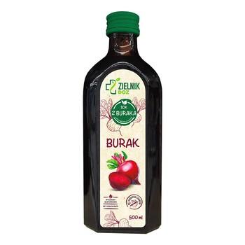 ZIELNIK DOZ Burak, sok, 500 ml