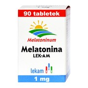 Melatonina LEK-AM, tabletki, 1 mg, (Lek-AM), 90 szt.