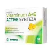 Vitaminum A + E Active Synteza, kapsułki miękkie, 30 szt.
