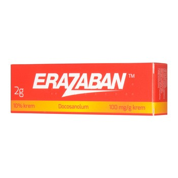 Erazaban 10 % (100 mg/g), krem, 2 g (tuba)