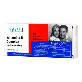 Witamina B Complex, tabletki drażowane, 60 szt.