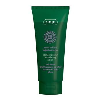 Ziaja, szampon ziołowy normalizujący sebum, 200 ml